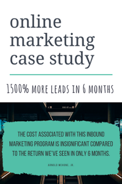 online marketing case study blog post cta