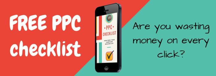 PPC Checklist CTA