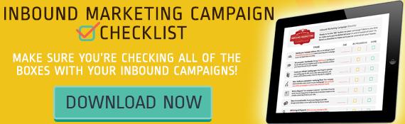 Download Your Inbound Marketing Campaign Checklist