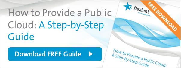 How to Provide a Public Cloud