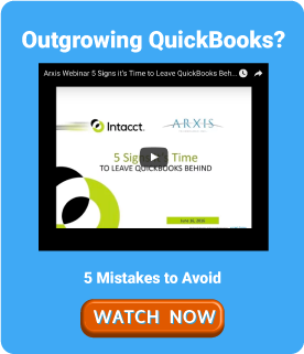 Outgrowing QuickBooks or Other Legacy ERP Arxis can help