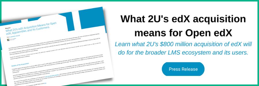 2U's edX acquisition and what it means - green background