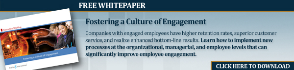 Fostering a Culture of Engagement