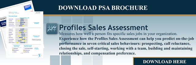 Download Profiles Sales Assessment