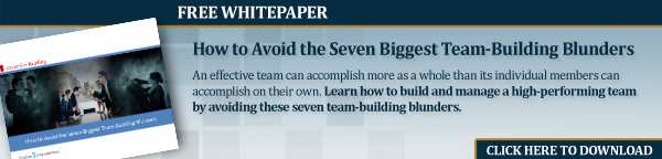 How to Avoid the Seven Biggest Teambuilding Blunders