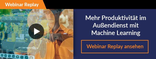 4 Ansätze wie Machine Learning Ihnen hilft, die Produktivität Ihrer Außendiensttechniker zu erhöhen
