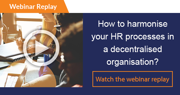 Webinar replay How to harmonise your HR processes in a decentralised organisation?