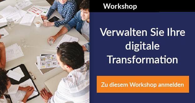 Workshop für digitale Transformation entdecken