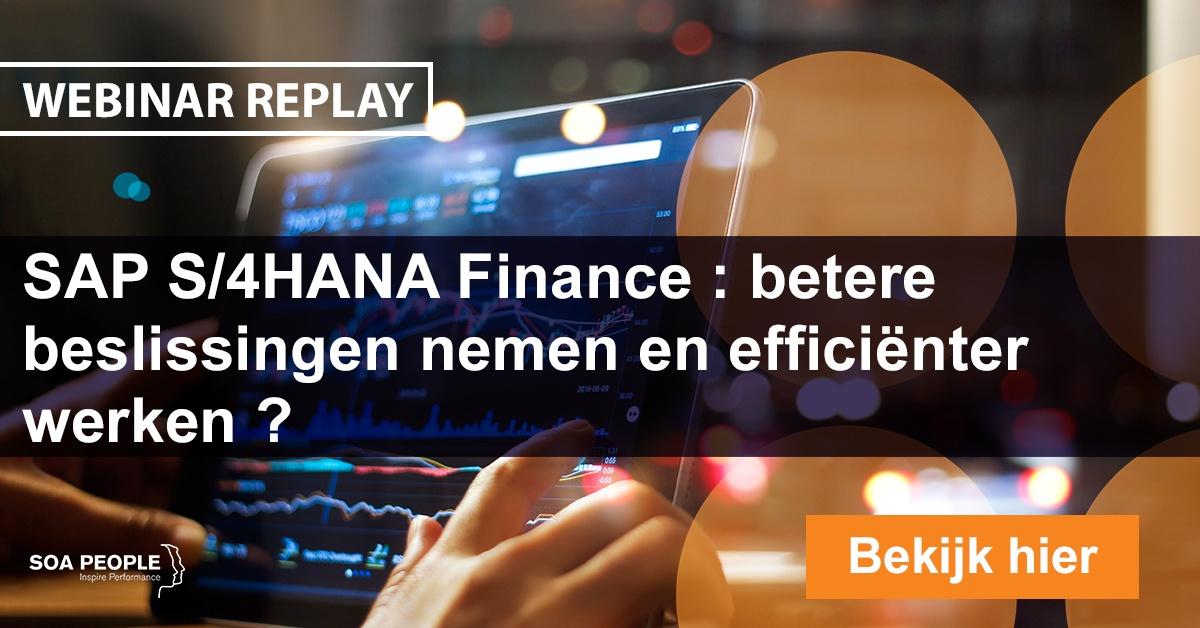 MIGR Webinar SAP S/4HANA Finance