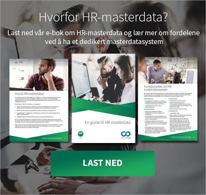 HR Master Data e-bok