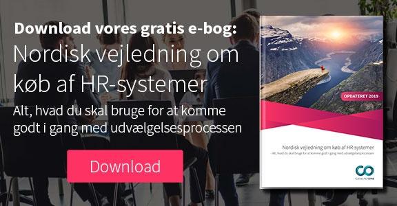 Download vores gratis e-bog: Nordisk vejledning om køb af HR-systemer