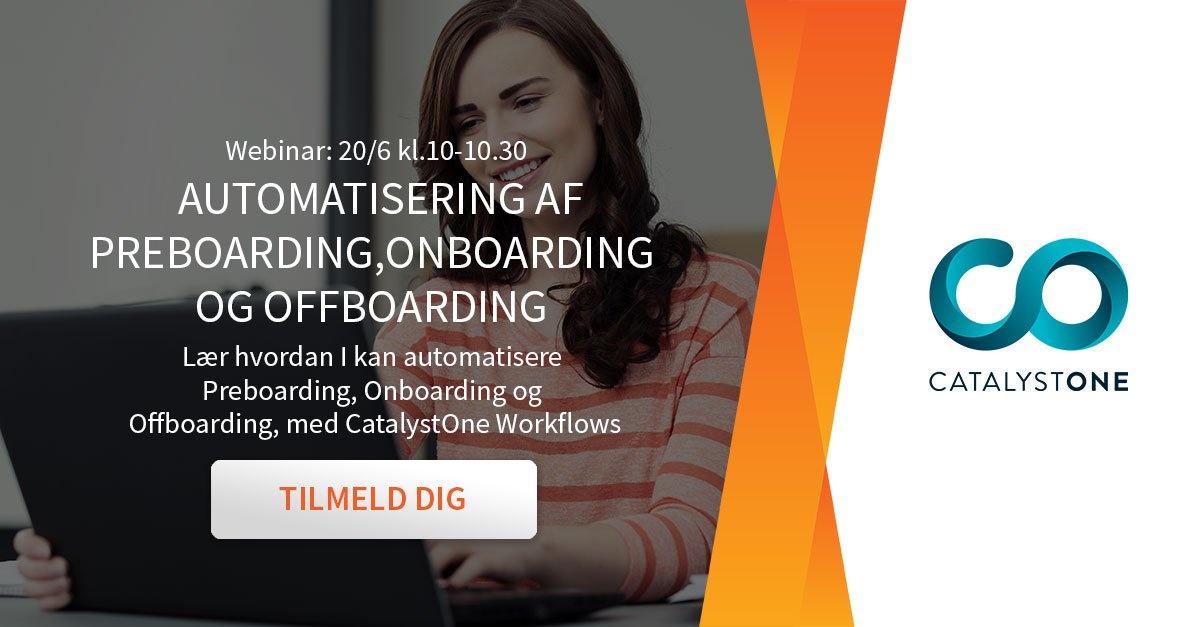 Webinar om automatisering af HR-processer
