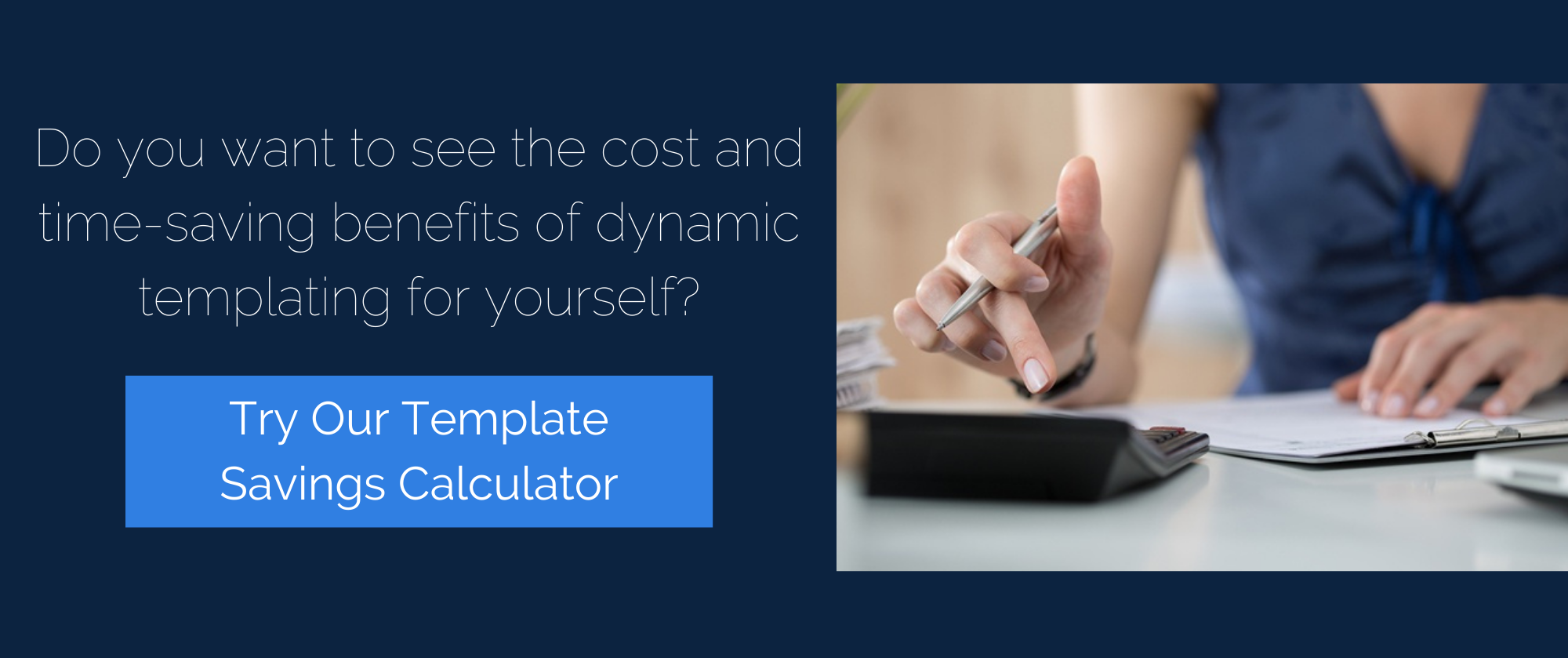 Template Savings Calculator