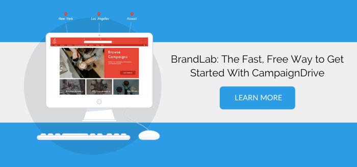BrandLab Free Trial CampaignDrive Brand-to-local marketing portal