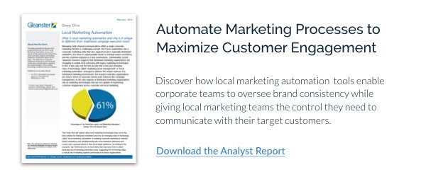 Local marketing automation explained