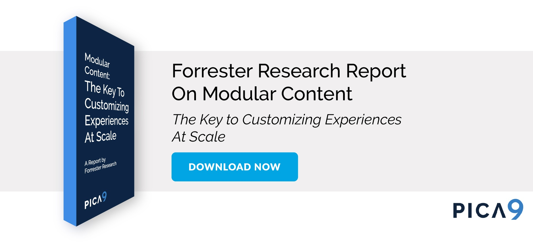 modular content forester research report