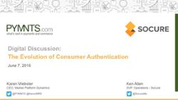Download the Presentation - Evolution of Authentication