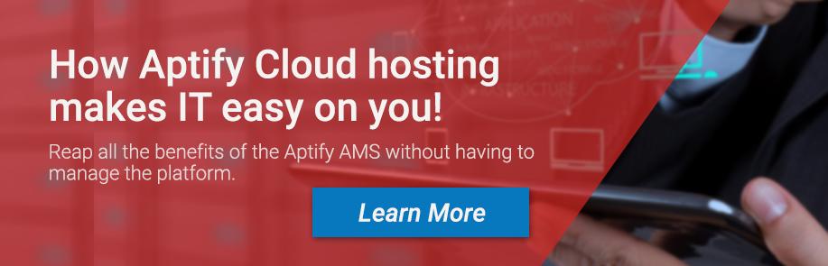 Aptify cloud hosting