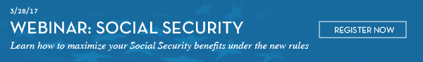 Social Security Webinar: March 28 at 10:30am