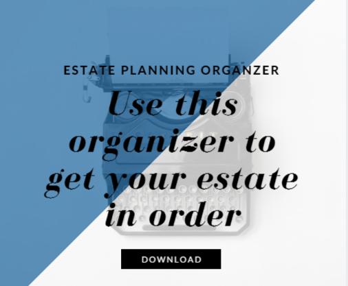 Estate Plan Organizer