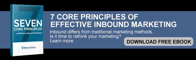 7 core principles of inbound marketing