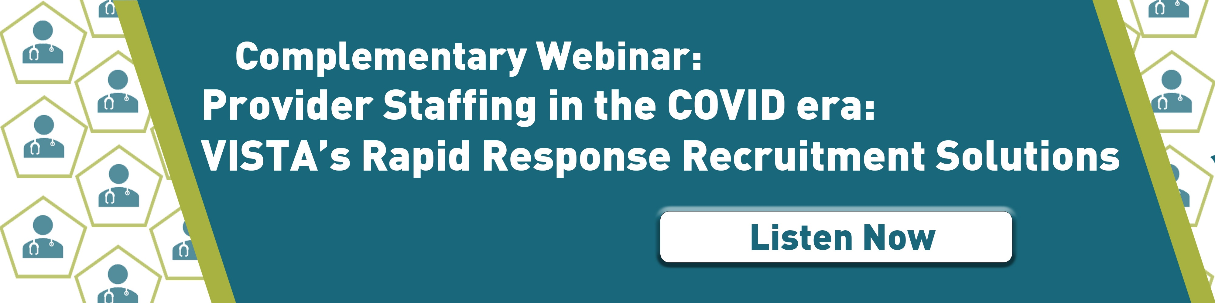 Complementary Webinar: Provider Staffing in the COVID era