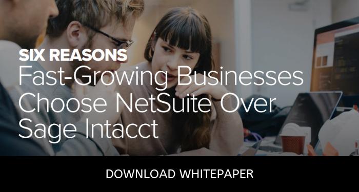 NetSuite vs Intacct