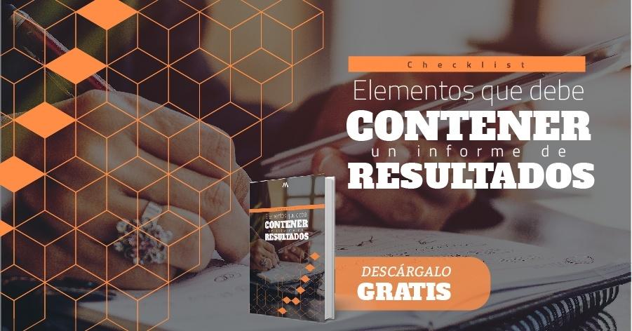 Checklist Elementos que debe contener un informe de resultados