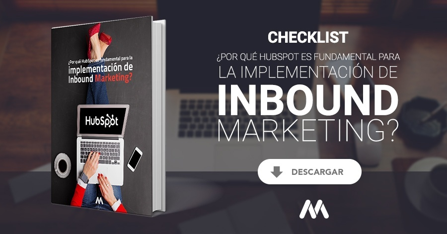 Checklist ¿Por qué hubspot es fundamental para la implementación de inbound marketing?