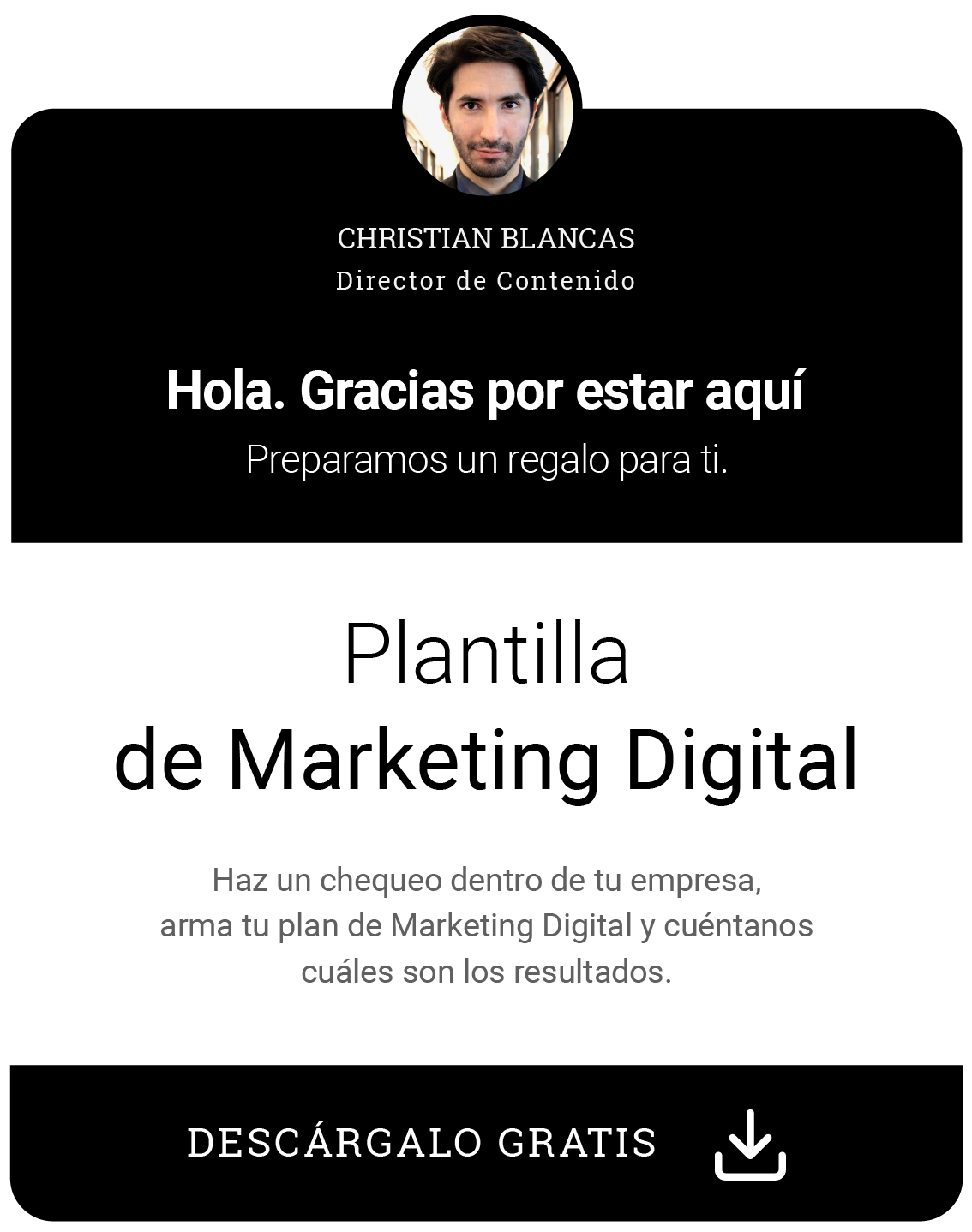 Plantilla de Marketing Digital