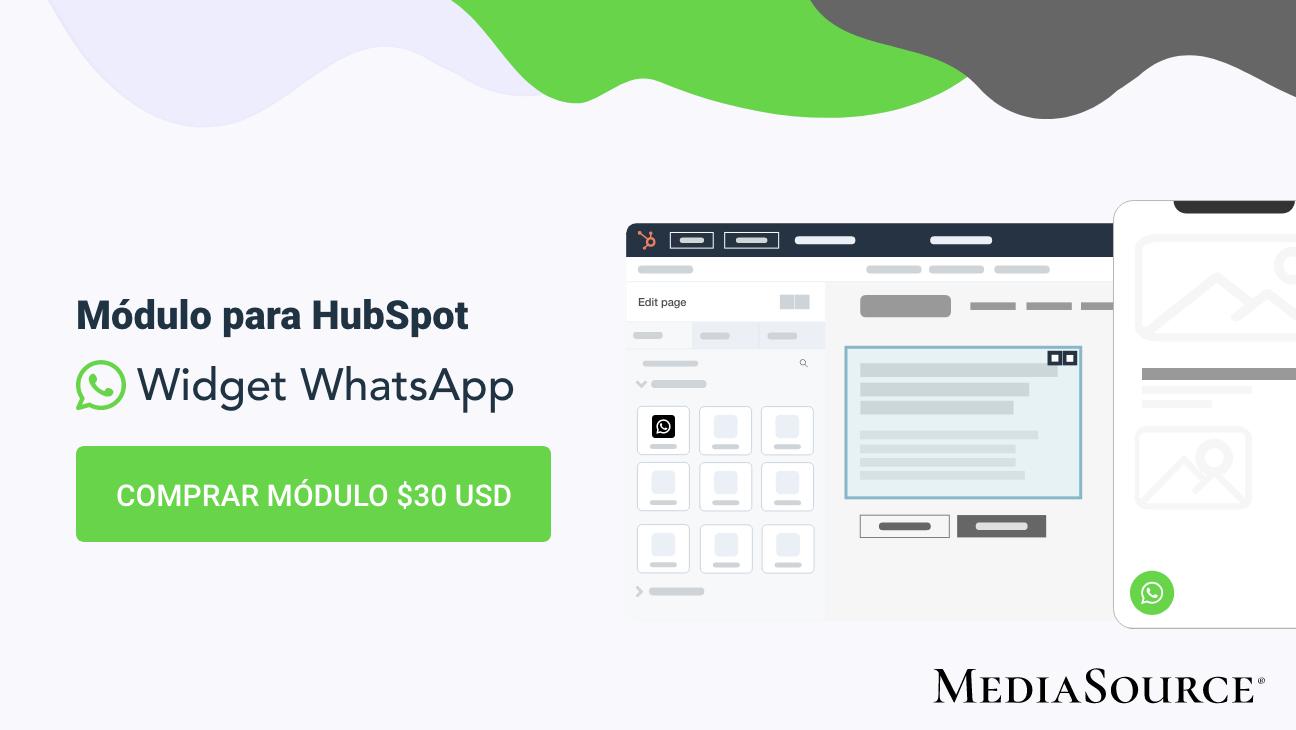 Módulo para página en HubSpot