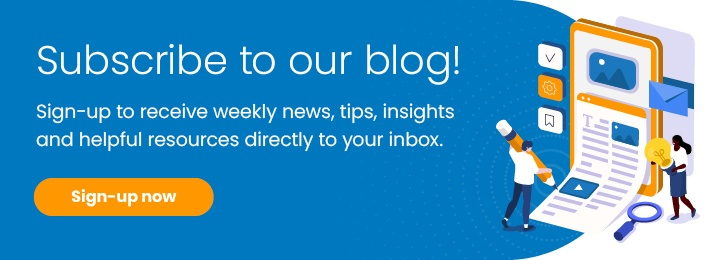 Subscribe to our blog
