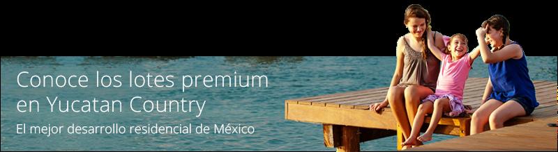 lotes residenciales premium en Yucatan Country