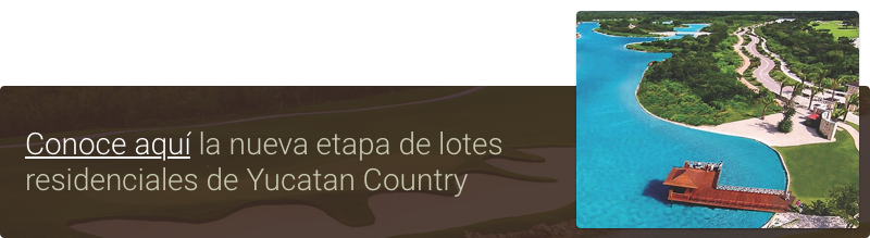 lotes residenciales en merida yucatan country