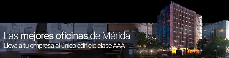 Venta de oficinas AAA en Mérida, Yucatán