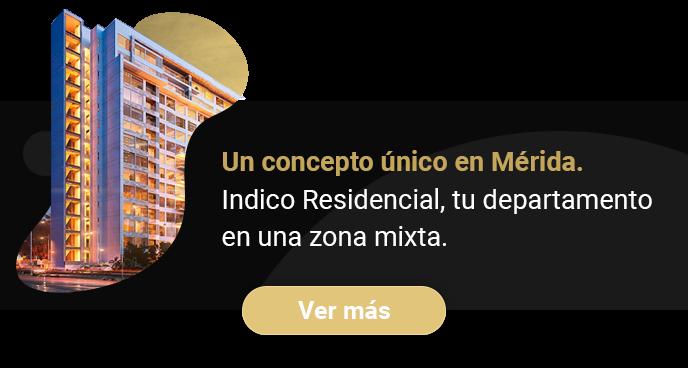 Torre Indico el mejor lugar para vivir en Mérida