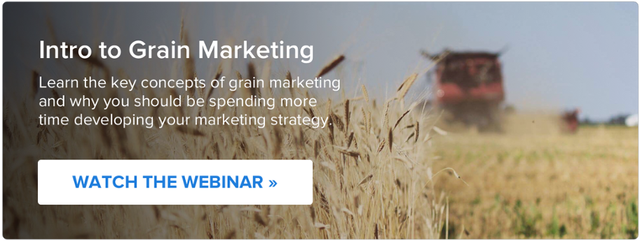 Watch the webinar: Intro to Grain Marketing