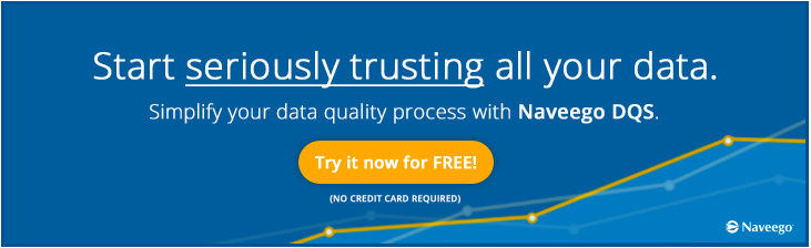 Start trusting all your data with Naveego DQS