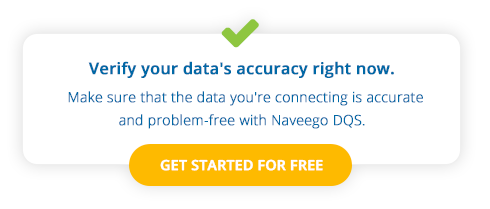 Verify your data quality and accuracy with Naveego DQS