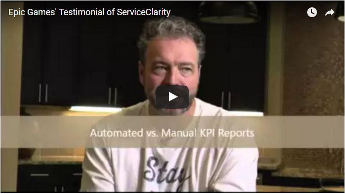 ServiceClarity Testimonial - Global Gaming Company