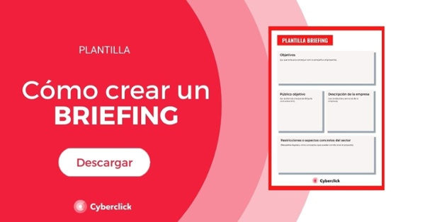 Plantilla descargable briefing