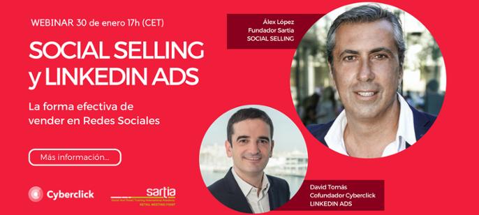 Social Selling: la forma efectiva de vender en redes sociales (Webinar)