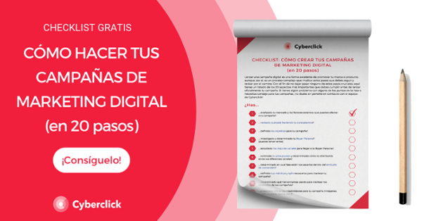 Checklist: pasos clave para lanzar tus campañas de marketing online