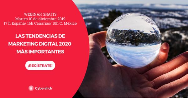 Curso: Las tendencias y predicciones de marketing digital 2020 más importantes