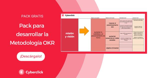 Plantilla metodología OKR