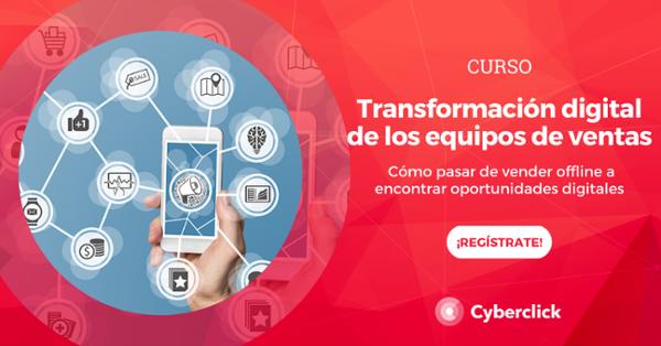 Curso: transformación digital de los equipos de ventas
