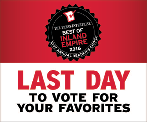 Vote for Best of Inland Empire 2016!