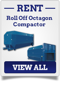 Roll Off Octagon Compactor Rental Connecticut