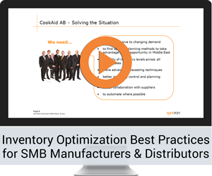 Inventory Optimization Best Practices for SMB Manufacturers & Distributors