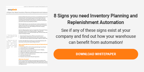 Whitepaper - 8 Signs you need Inventory Planning and Replenishment Automation
